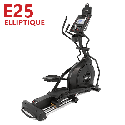 Elliptique E25 de SOLE Fitness