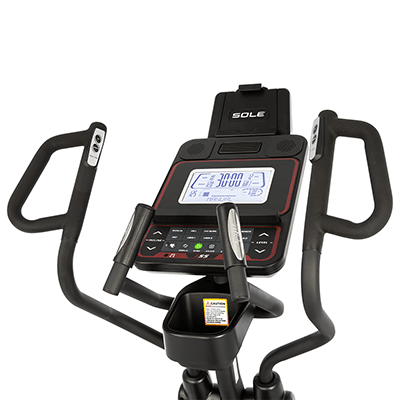 SOLE Fitness E55 Elliptical console