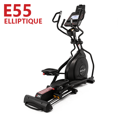 Elliptique E55 de SOLE Fitness