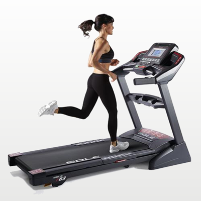 SOLE Fitness F63 Treadmill lifestyle