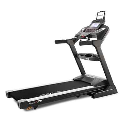 SOLE Fitness F80 Treadmill side view