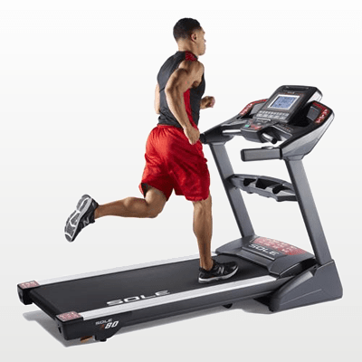 SOLE Fitness F80 Treadmill lifestyle