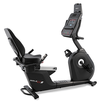 SOLE Fitness LCR upright cycle.