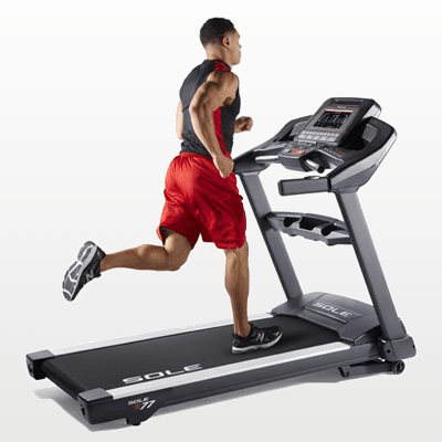 SOLE Fitness S77 Treadmill lifestyle
